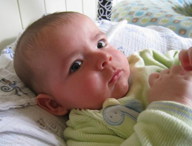baby boy max is 18 weeks old